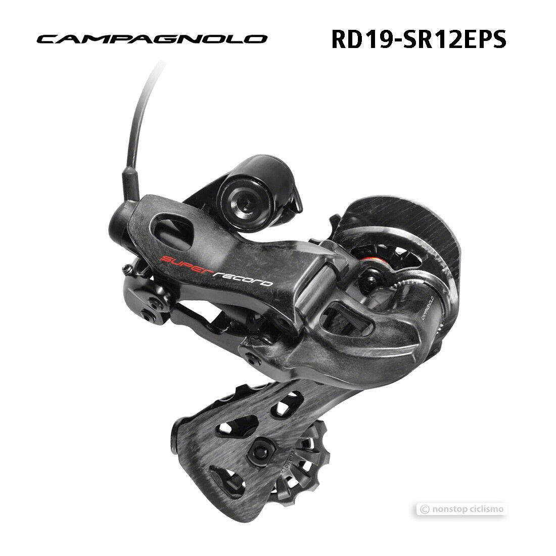 Campagnolo 2019 SUPER RECORD EPS 12 Speed Rear Derailleur   RD19SR12EPS