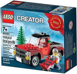 LEGO-Creator-40083-Weihnachtsbaumtransporter-NEU-OVP-NEW-MISB-NRFB-40106