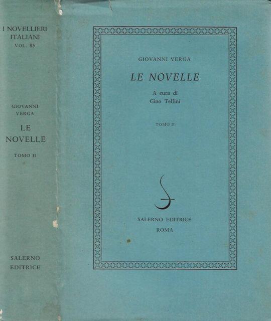 Le novelle  vol. II. . Giovanni Verga. 1980. .