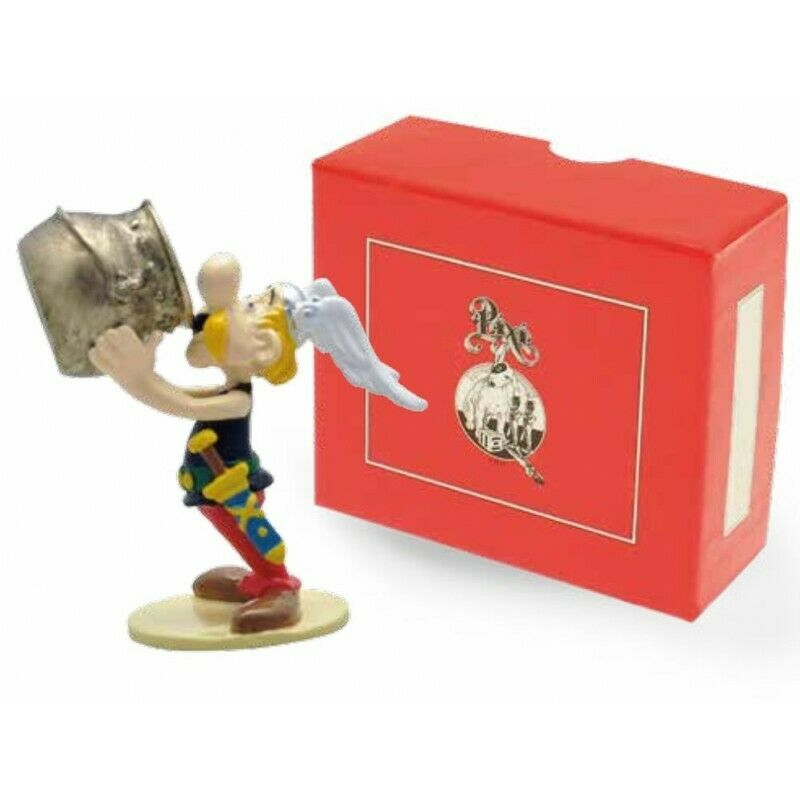 Figurine Astérix buvant au chaudron Collection Origine 2 ASTERIX   UDERZO - Pixi