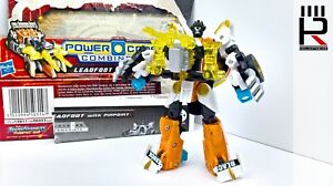 2010-Hasbro-Transformers-Power-Core-Combiner-LEADFOOT-COMPLETE-PLUS-CARD-amp-INST