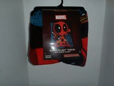 Buy Deadpool Snuggie Blanket With Sleeves Comfy Throw Marvel Comics