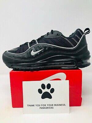 Nike Air Max 98 'Black Silver' 640744 013 Size 7.5 | eBay