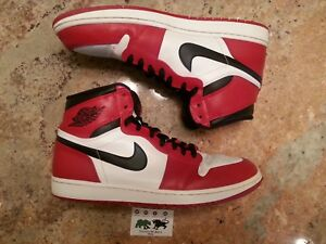 buy online 3a4ba 0be7b Details about 2013 Nike Air Jordan 1 OG Chicago size 14. White Red Black.  332550-163.