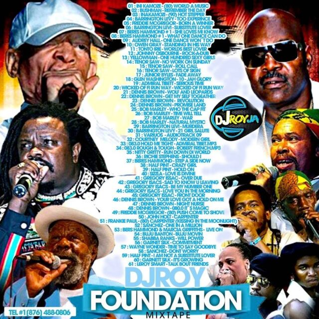 Foundation Reggae Roots & Culture Mix CD