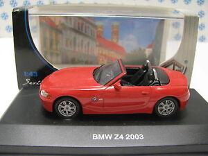 EDISON-GIOCATTOLI-1-43-AUTO-BMW-Z4-2003-ARANCIO-SCURO-ART-840921