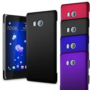 Pour-HTC-U11-Hybride-Armour-Hard-Case-Slim-Mince-Couverture-amp-protecteur-d-039-ecran
