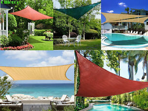 Image Is Loading Sun Shade Sail UV Top Awning Outdoor Patio