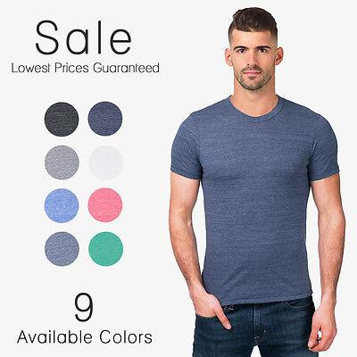 Alternative Apparel T-Shirt Eco Heather Crew Tee SHirt 16 Colors! XS S M L XL