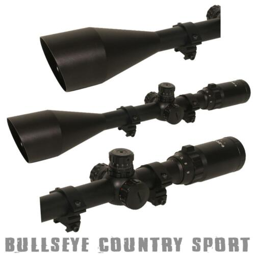 Swiss Arms Long Range Tactical Rifle Scope 624 x 50 Magnification With Mounts