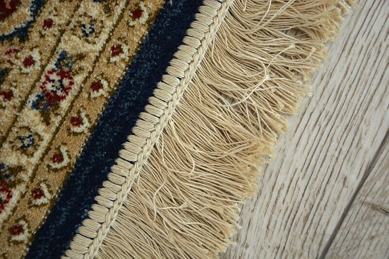 TRADITIONELL Teppich  WINDSOR  Rosatte blau Jacquard Jacquard Jacquard klassisch Bestee Qualität 0ccca1