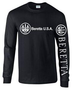 Beretta-T-shirt-a-manches-longues-fusil-d-039-assaut-2nd-amendement-de-la-marque-pro-Gun-AR-15