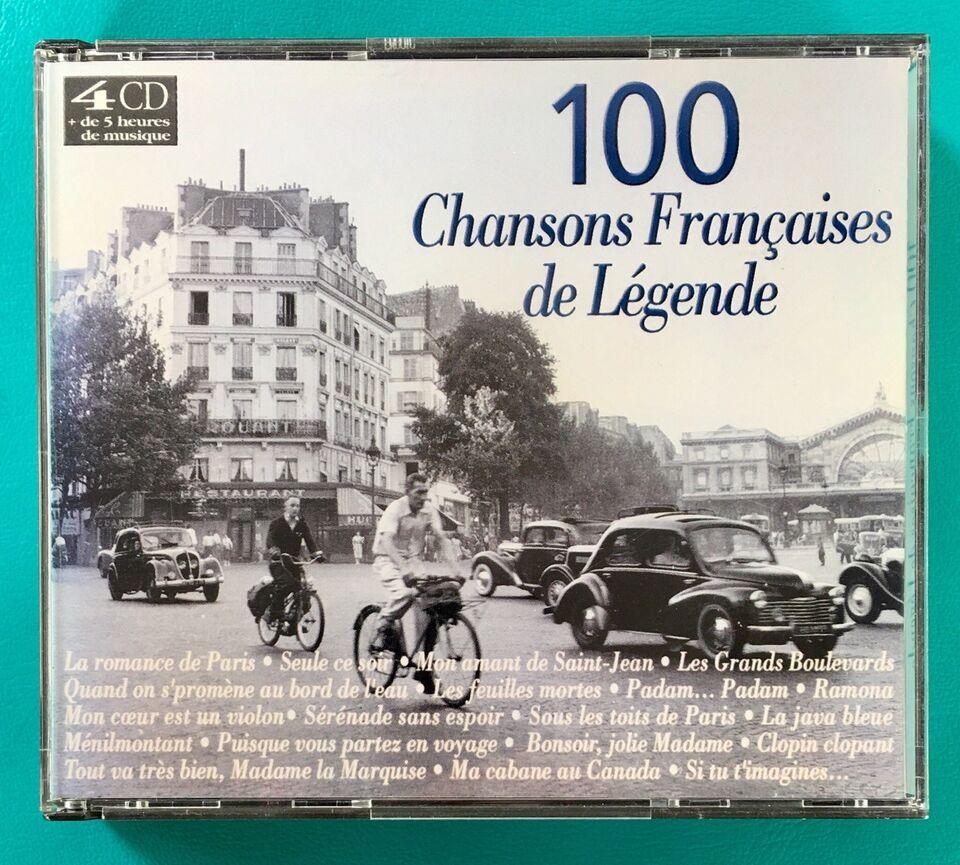 100 franske sange (4CD): 100 Chansons Francaises de