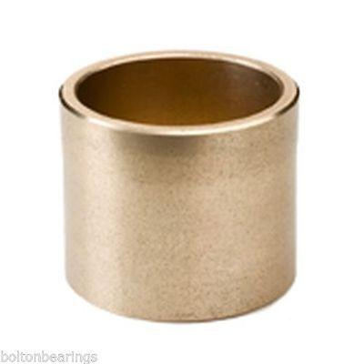 AM-151910 15x19x10mm Sintered Bronze Metric Plain Oilite Bearing Bush