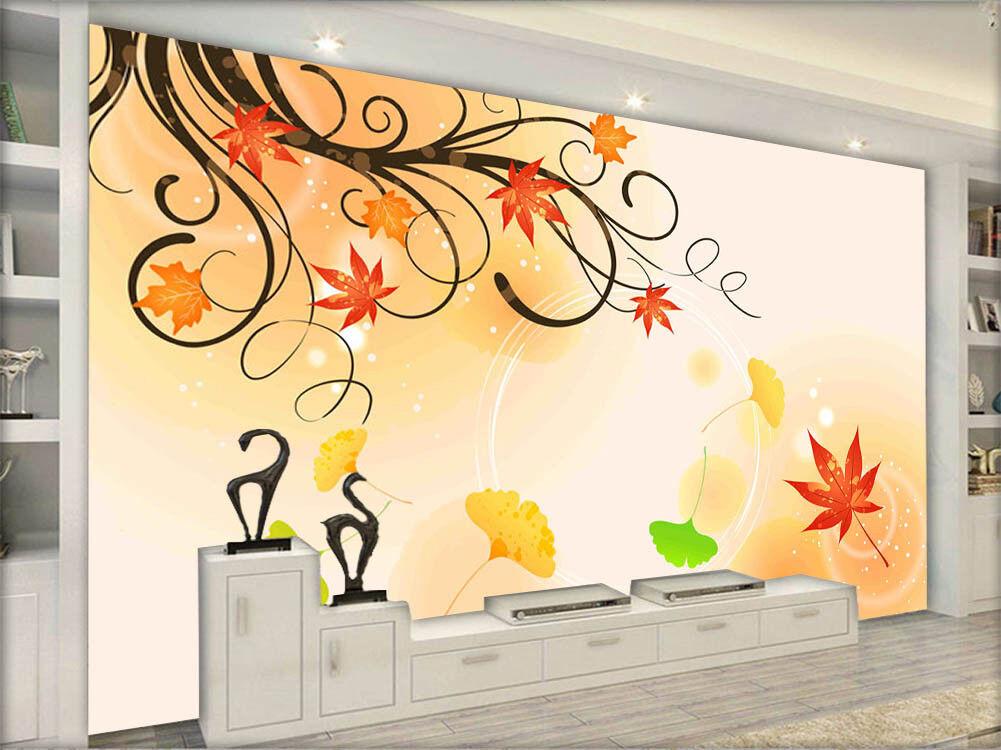 Ripe Royal Leaf 3D Full Wall Mural Photo Wallpaper Printing Home Kids Decor