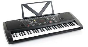 Digitales-61-Tasten-Fun-Keyboard-E-Piano-Klavier-100-Sounds-100-Rhythmen-Display