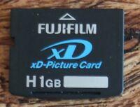 Fujifilm 1GB H XD Memory Card for Fujifilm S6500fd S9500 S9600 S5600 S5700