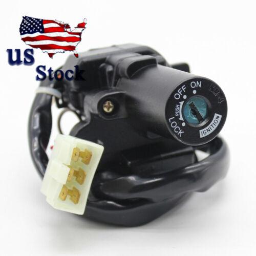 US For EX250F2//F3//F4 Ninja250R 1988-1990 Steering Ignition Switch Lock 2xKeys