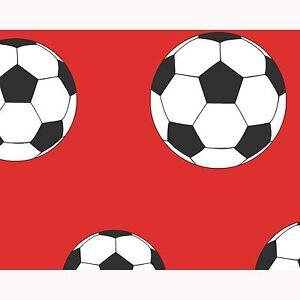 But-Football-Papier-Peint-Rouge-9720-Belgravia-Decor-Enfants-Garcons-Neuf
