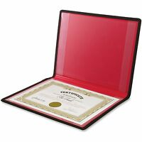 Anglers Diploma/certificate Holder 2 Pockets Vinyl 12x9 Black 204 on Sale