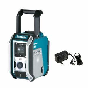 Makita Akku Baustellenradio DMR115 | ohne Akku inkl, Bluetooth 5,0 & Netzteil