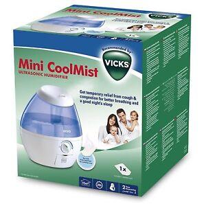 Details about VICKS VUL520E1 Mini Cool Mist Ultrasonic Humidifier