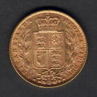 Australia. 1878 Sydney - Shield Sovereign... Part Lustre. VF/gVF