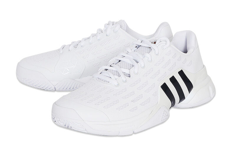 Adidas Barricade 2016 Tennis chaussures AQ2255 bottes Trainers blanc