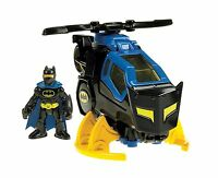 Fisher-price Imaginext Dc Super Friends Batcopter Free Shipping