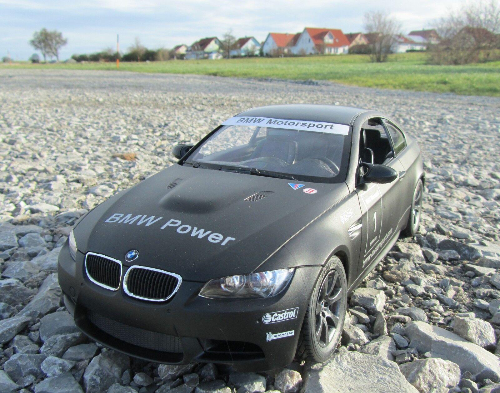 RC BMW M3 Sport Coupe 34cm 1 14 Schwarz 40MHz 403071