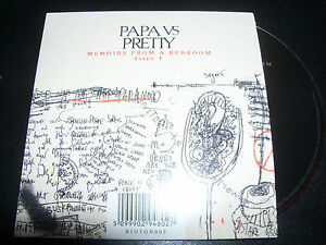 Papa-Vs-Pretty-Memiors-From-A-Bedroom-Issue-1-Rare-7-Track-CD-EP-New