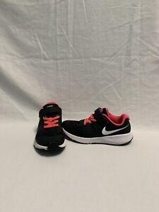 Nike-Star-Runner-Girls-Pink-black-Shoes-size-13-C