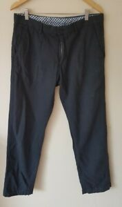 Banana Republic Herren Navy Chino Hose 36w/30l < cx7018