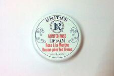 Smith's Rosebud Lip Balm Salve Tin 0.8oz / 22g - Minted Rose