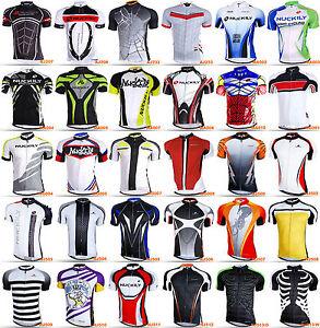 Nuckily Men s Bike Summer Sports Anti-UV Cycling SS Jersey T-Shirt ... 5b5189ba9