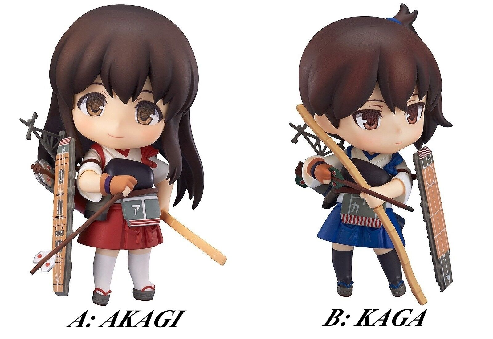 Nendoroid KanColle Akagi Kaga Aircraft Carrier action figure Good Smile Company