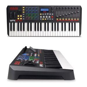 AKAI-MPK249-keyboard-controller-tastiere-midi-usb-49tasti-16pad-GARANZIAitalian