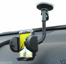 Car Windshield Gooseneck Mount Holder For iPhone iPod Cell Phone MP3 PDA GPS New