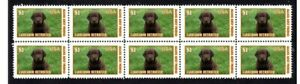 LABRADOR-RETRIEVER-DOG-STRIP-OF-10-MINT-VIGNETTE-STAMPS-5