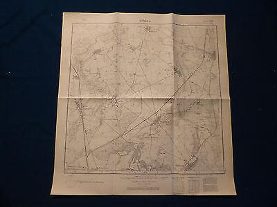 AnpassungsfäHig Landkarte Meßtischblatt 3045 Klein Mutz, Zehdenick, Buberow, Bergsdorf, Von 1945