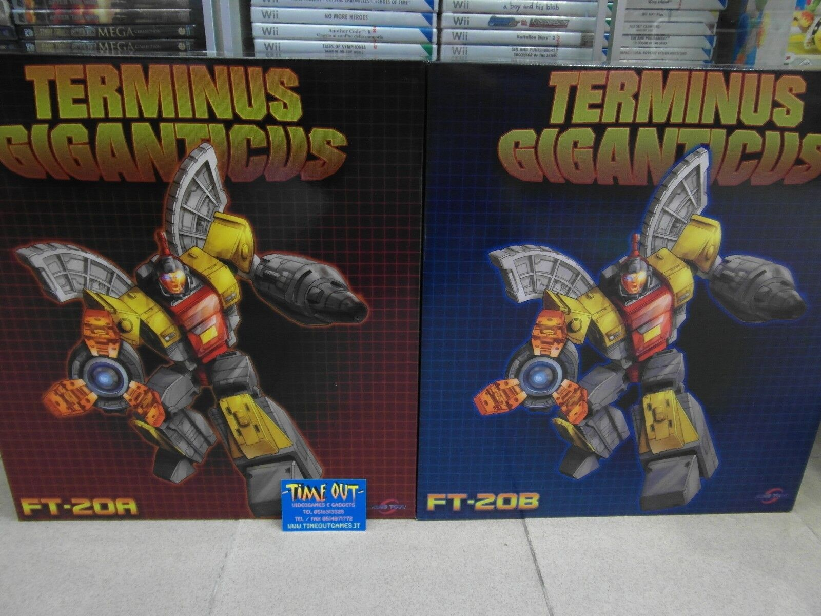 FANS TOYS TRANSFORMERS FT-20A & FT-20B AEGIS SENTINEL TERMINUS GIGANTICUS NUOVO
