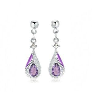 1-1-3-ct-Natural-Amethyst-Pear-Cut-Drop-Dangle-Stud-Earrings-in-Sterling-Silver