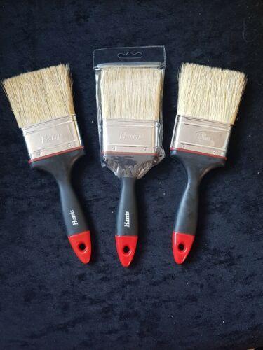 """Harris 75 mm rouge 3/"""" Pouces Expert Natural Bristle Paint Brush"""