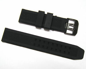 Image is loading 23mm-Rubber-Silicone-Watch-Band-Replacement-Strap-Bracelet- 4ad9d0faf