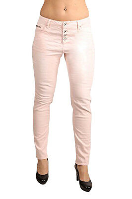 Jeans Garcia Damen Stretch-jeans Luisa A70115-2160 Tapered Leg Mellow Rose Lovely Luster