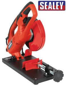 Sealey-150mm-6-034-Mini-Metal-Abrasive-Mitre-Cut-Off-Chop-Saw-Blade-240v-SM150D