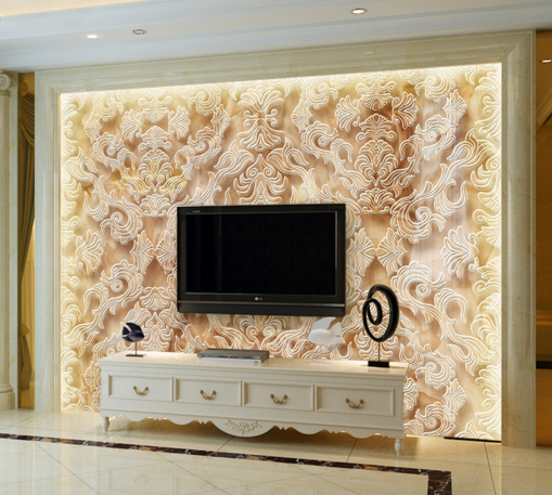 3D Design Patternn Vines Paper Wall Print Wall Decal Wall Deco Indoor Murals