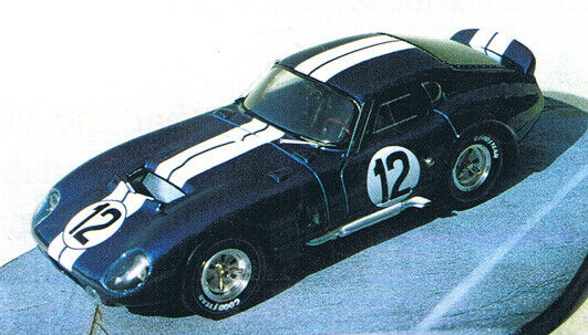 COBRA DAYTONA Le MANS' 65 n° 9 ou 12 - 1 43 Weiß-metal MARSH Models KIT MM27