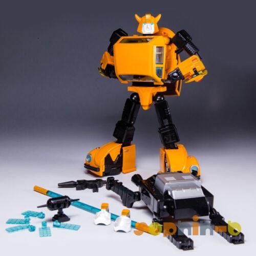 Transformed KBB Metal Parts Diecast Bumblebee Upgrade Kit Figure FREE Sticker