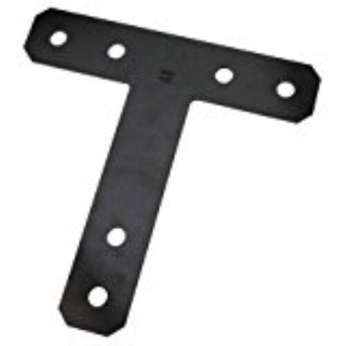 Plate T 12x12in Black Steel